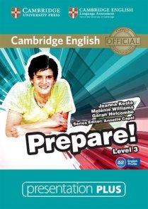 Cambridge English Prepare! 3 Presentation Plus DVD