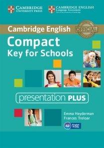 Compact Key for Schools Presentation Plus DVD