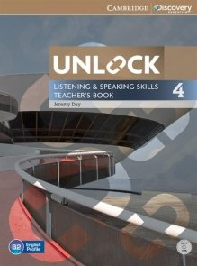 Unlock Level 4 Listening and Speaking Skills Teacher's book + DVD