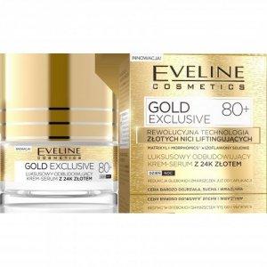 EVELINE*GOLD LIFT Krem-Serum 80+ z 24k złotem