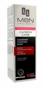 AA Men Carbon Care Maska oczyszczająca na twarz z węglem  30ml