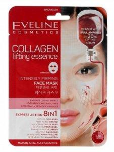 Eveline Sheet Mask Collagen Maska na tkaninie 8in1 napinająca  1szt