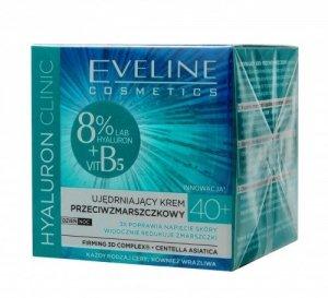 Eveline Hyaluron Clinic 40+ Ujędrniający Krem przeciwzmarszczkowy na dzień i noc  50ml