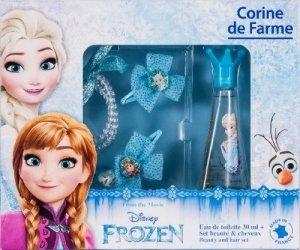 Corine de Farme Zestaw prezentowy Frozen (woda toaletowa 30ml+bransoletka+2 spinki)