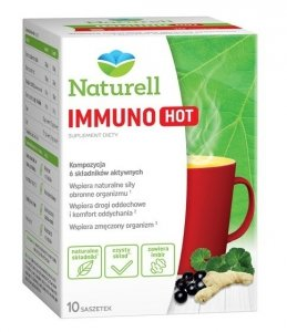 NATURELL Immuno HOT, 10 szt., proszek w saszetkach 10g