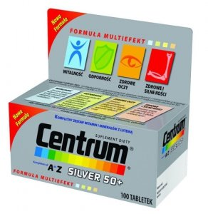 CENTRUM A-Z Silver 50+ x 100 tabl.