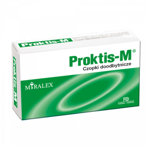 PROKTIS-M  x 10 czopków przeciw hemoroidom