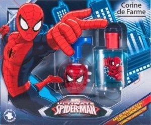 Corine de Farme Zestaw prezentowy Spiderman (woda toaletowa 50ml+żel do stylizacji świecący bączek)