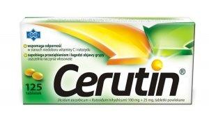 CERUTIN x 125 tabletek
