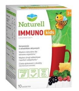 NATURELL Immuno KIDS, 10 szt., proszek w saszetkach 10 g