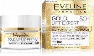Eveline Gold Lift Expert 50+ Krem-serum multi-odżywczy na dzień i noc  50ml