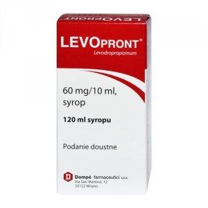 LEVOPRONT syrop na kaszel  120 ml