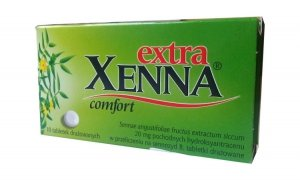 XENNA Extra Comfort x 10 drażetek