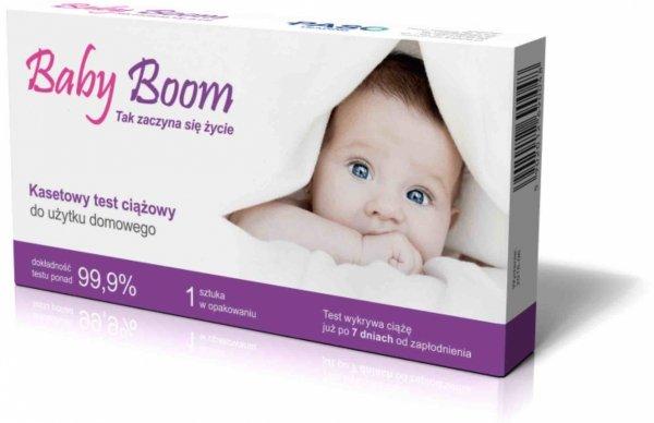 BABY BOOM Test ciążowy kasetowy