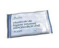 Marion Chusteczki do higieny intymnej Hypoalergiczne  1 opakowanie - 10 sztuk