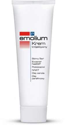 EMOLIUM P Krem trójaktywny 50ml