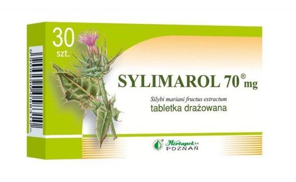 SYLIMAROL 70mg x 30 drażetek