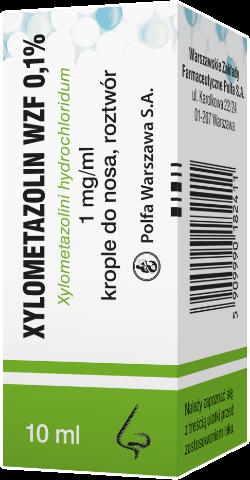 XYLOMETAZOLIN 0,1% krople 10ml