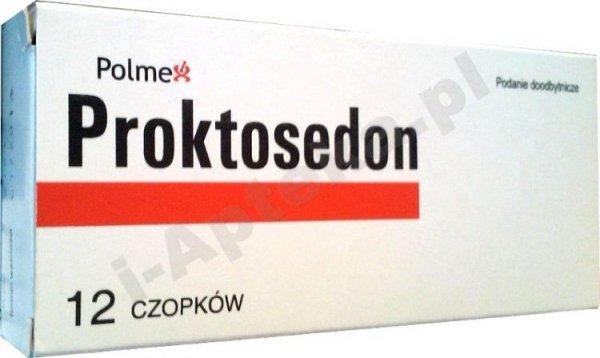 PROKTOSEDON (Proctosone) x 12 czopków