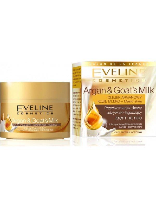 Eve Argan&Goats Milk krem na noc