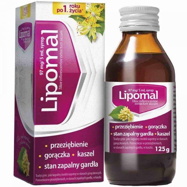 LIPOMAL syrop 125g