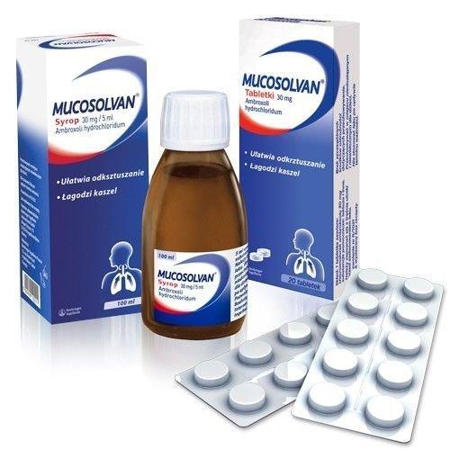 MUCOSOLVAN syrop 100ml