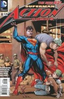 ACTION COMICS #8 VAR ED