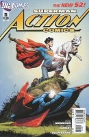 ACTION COMICS #5 VAR ED