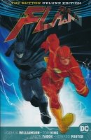 BATMAN THE FLASH THE BUTTON HC (DELUXE)