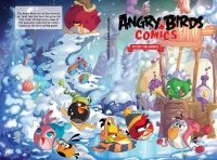 ANGRY BIRDS COMICS FLY OFF HANDLE HC **