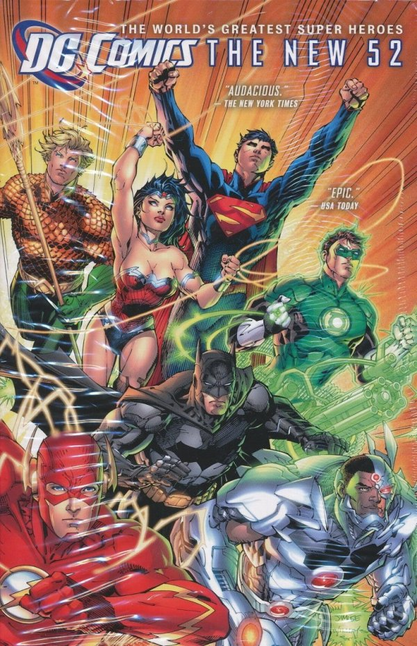 DC COMICS THE NEW 52 HC