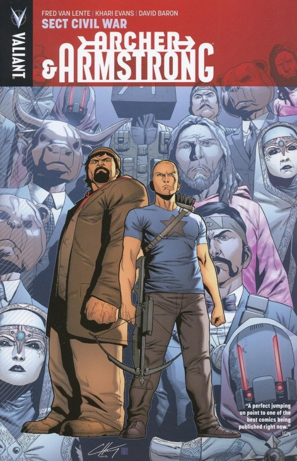 ARCHER AND ARMSTRONG TP VOL 04 SECT CIVIL WAR