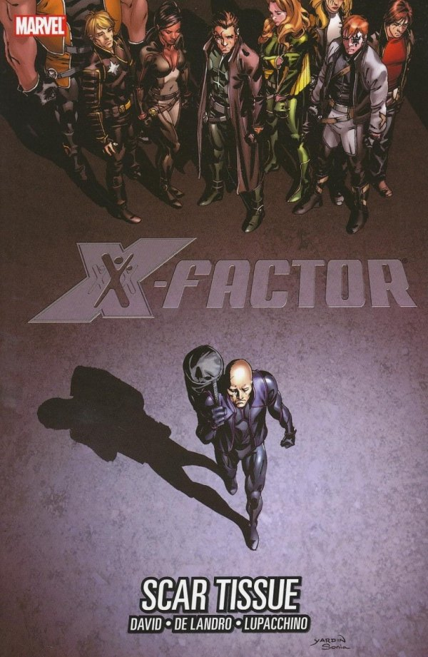 X-FACTOR VOL 12 SCAR TISSUE SC