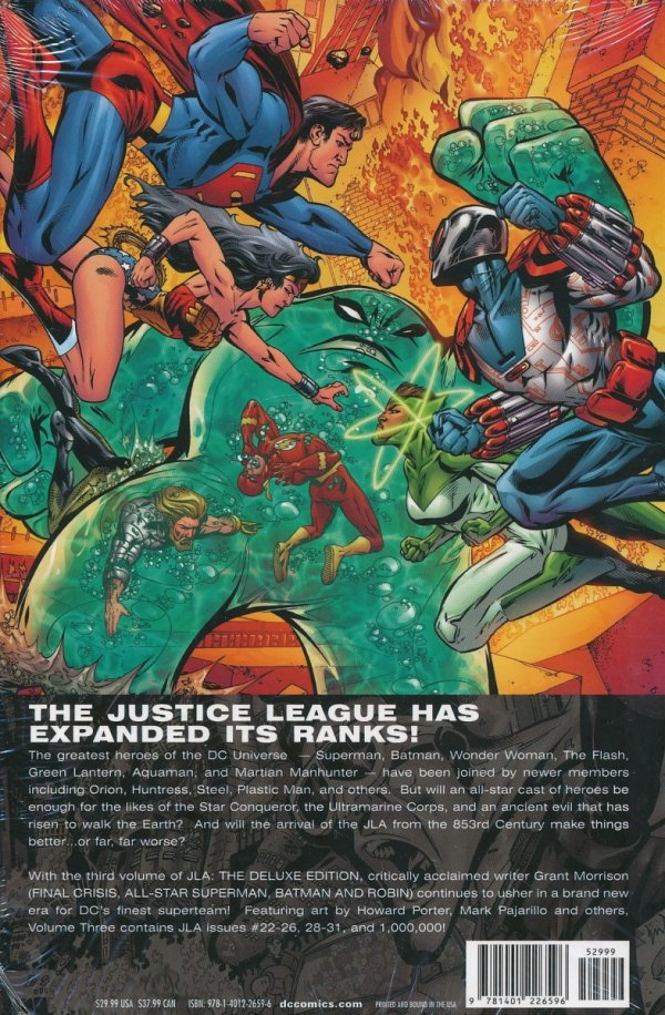 JLA THE DELUXE EDITION VOL 03 HC