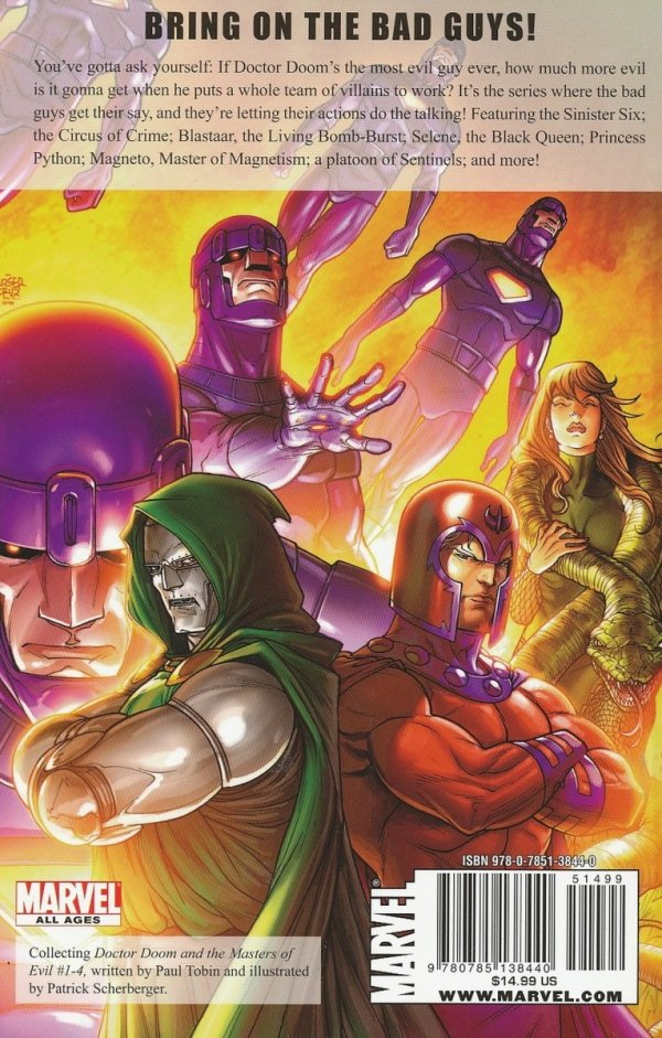 DOCTOR DOOM AND THE MASTERS OF EVIL SC **