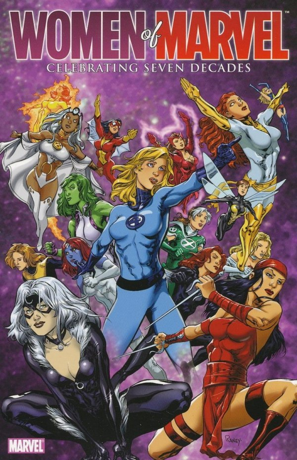 WOMEN OF MARVEL CELEBRATING SEVEN DECADES HB TP