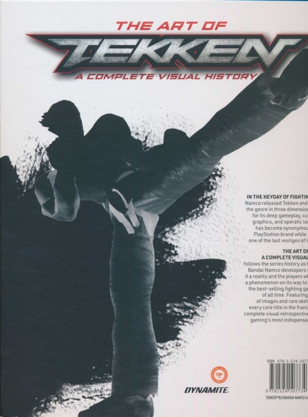 ART OF TEKKEN A COMPLETE VISUAL HISTORY HC *