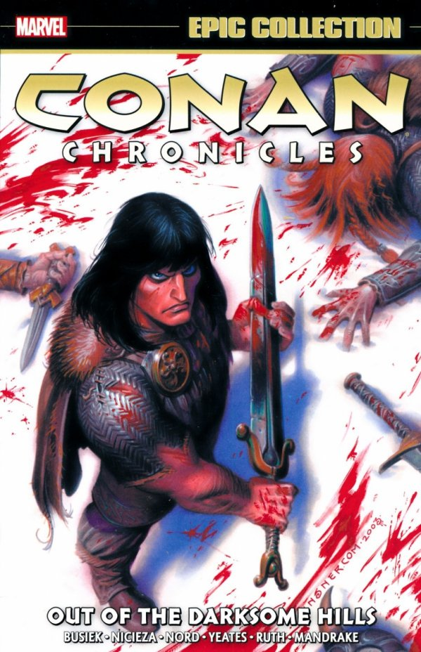 CONAN CHRONICLES EPIC COLLECTION OUT OF THE DARKSOME HILLS SC
