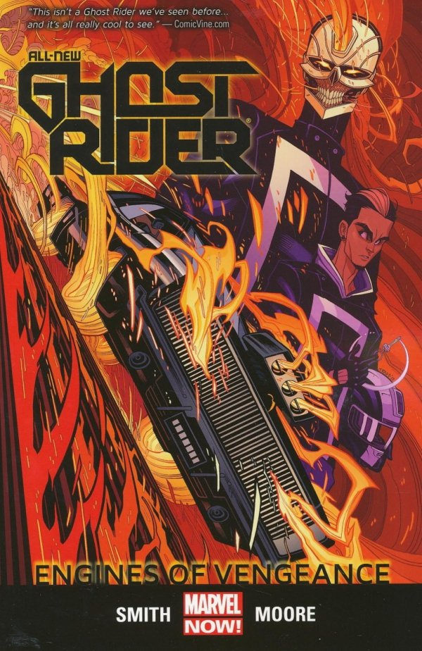 ALL-NEW GHOST RIDER VOL 01 ENGINES OF VENGEANCE SC