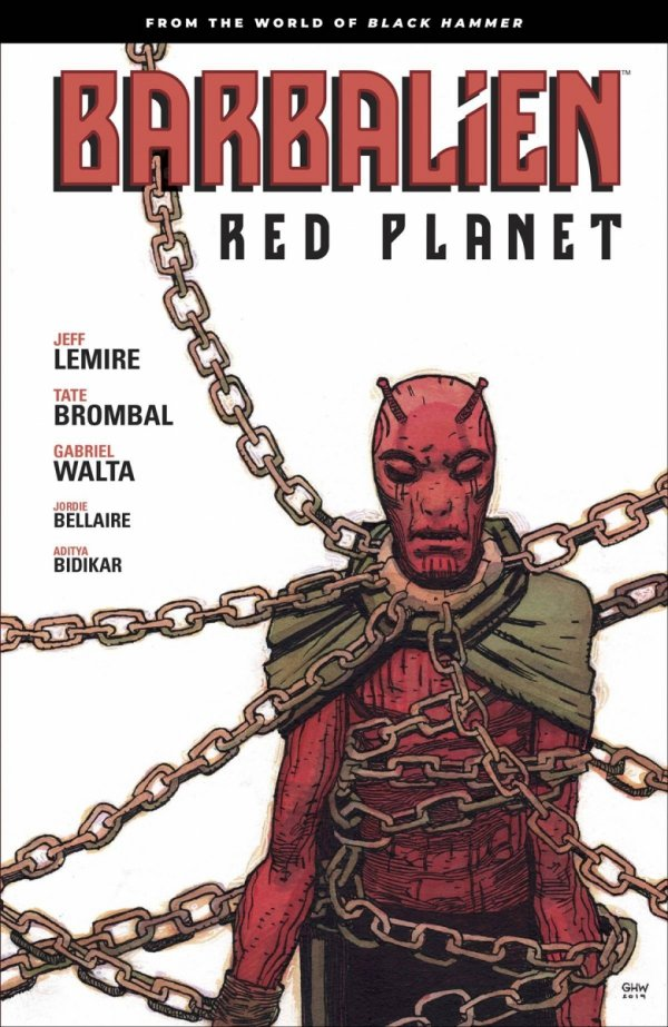 BARBALIEN RED PLANET TP *