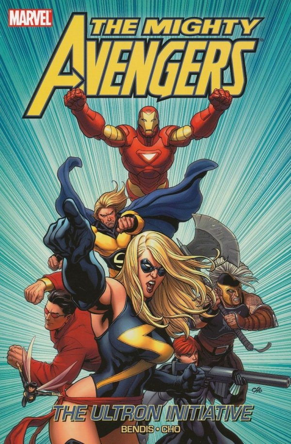 MIGHTY AVENGERS VOL 01 THE ULTRON INITIATIVE SC