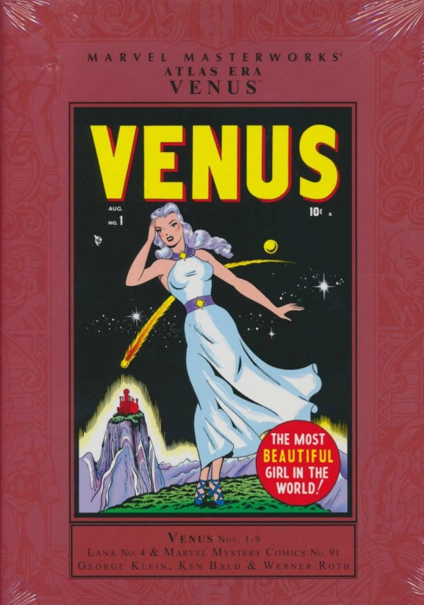 MARVEL MASTERWORKS ATLAS ERA VENUS VOL 01 HC (STANDARD COVER)