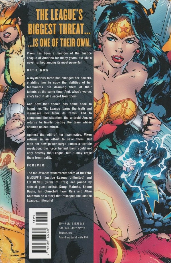 JUSTICE LEAGUE OF AMERICA SECOND COMING HC