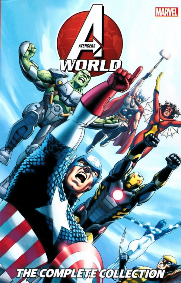 AVENGERS WORLD THE COMPLETE COLLECTION SC