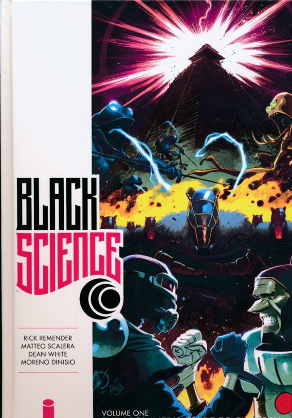 BLACK SCIENCE VOL 01 THE BEGINNERS GUIDE TO ENTROPY HC (NEW EDITION)