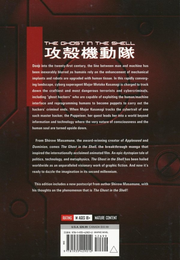 GHOST IN SHELL VOL 01 SC **