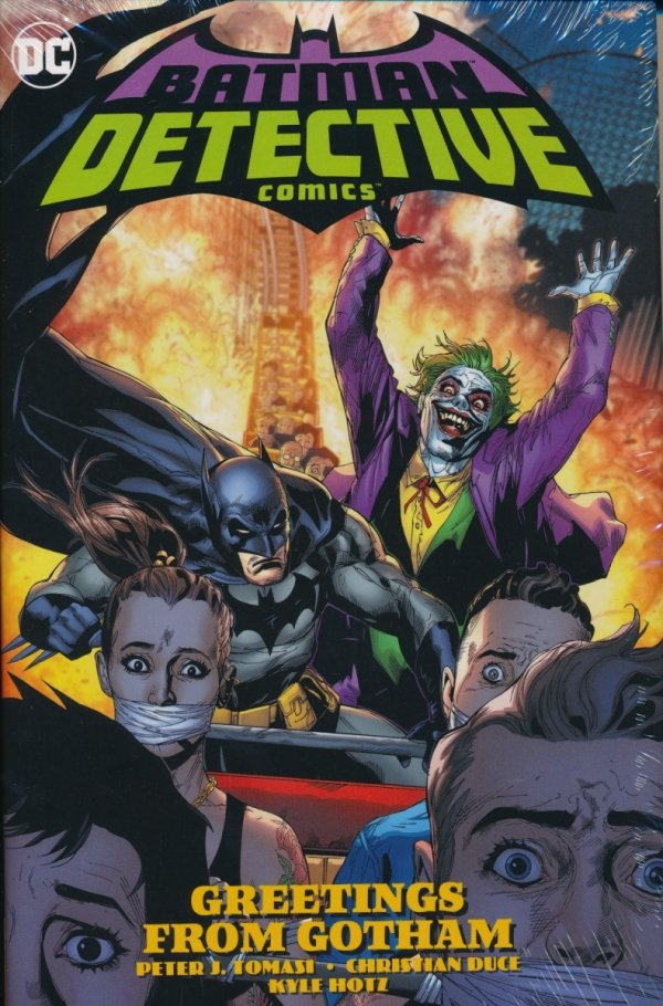 BATMAN DETECTIVE COMICS HC VOL 03 GREETINGS FROM GOTHAM