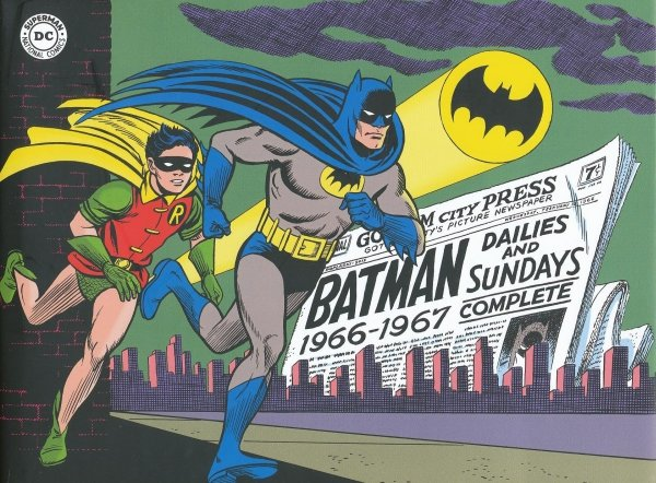 BATMAN WITH ROBIN THE SILVER AGE DAILIES AND SUNDAYS 1966-1967 HC