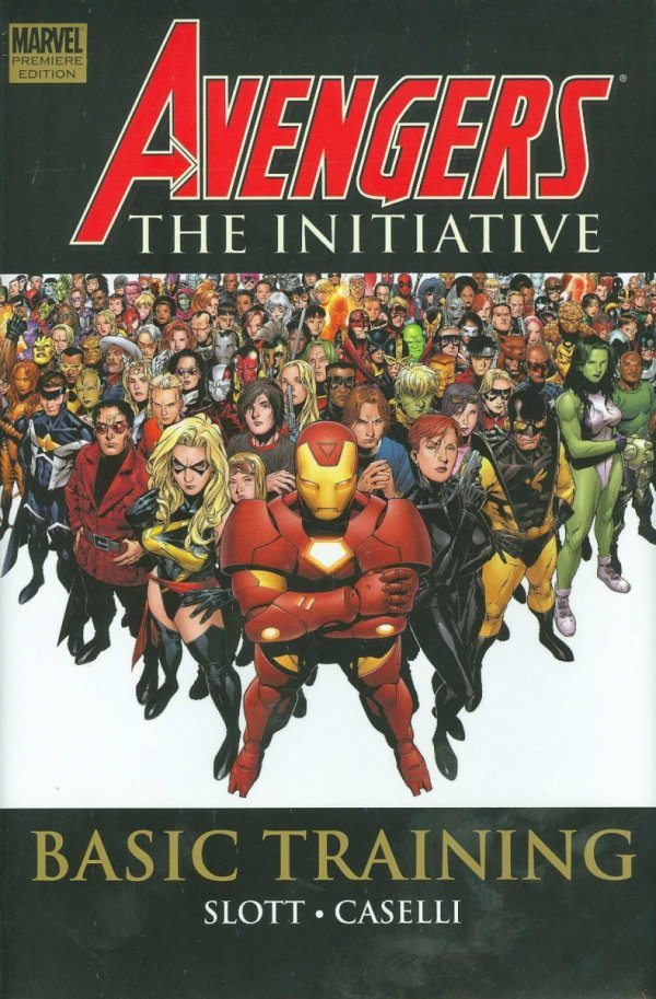 AVENGERS THE INITIATIVE VOL 01 HC **