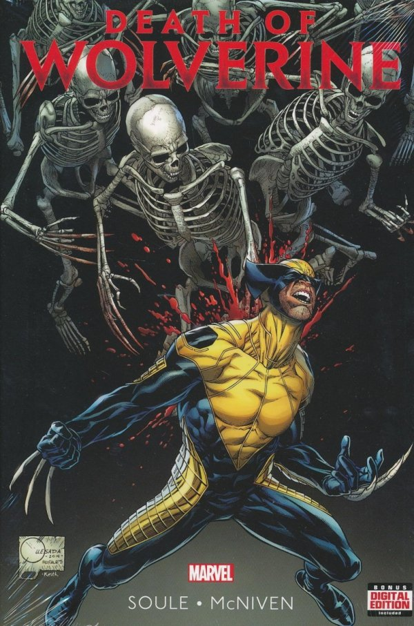 DEATH OF WOLVERINE HC (VARIANT COVER)